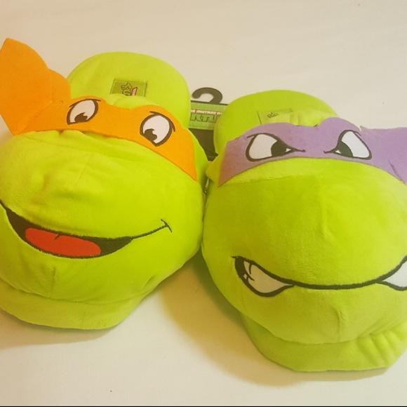 3ac5cc676d8 Nickelodeon Teenage Mutant Ninja Turtle slippers